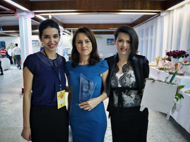Irninis Miricioiu, Madalina Sultan, Catalina Popa - podium Spring Super Blog 2016