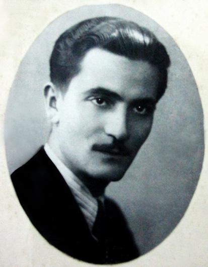 poetul George Toparceanu portret alb negru
